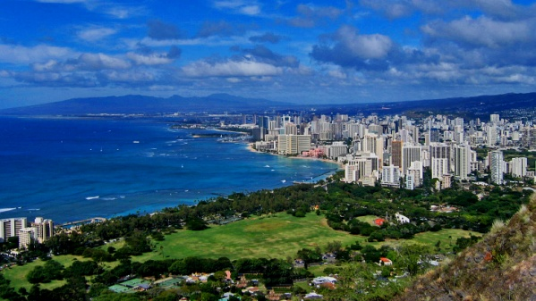 View of Honolulu