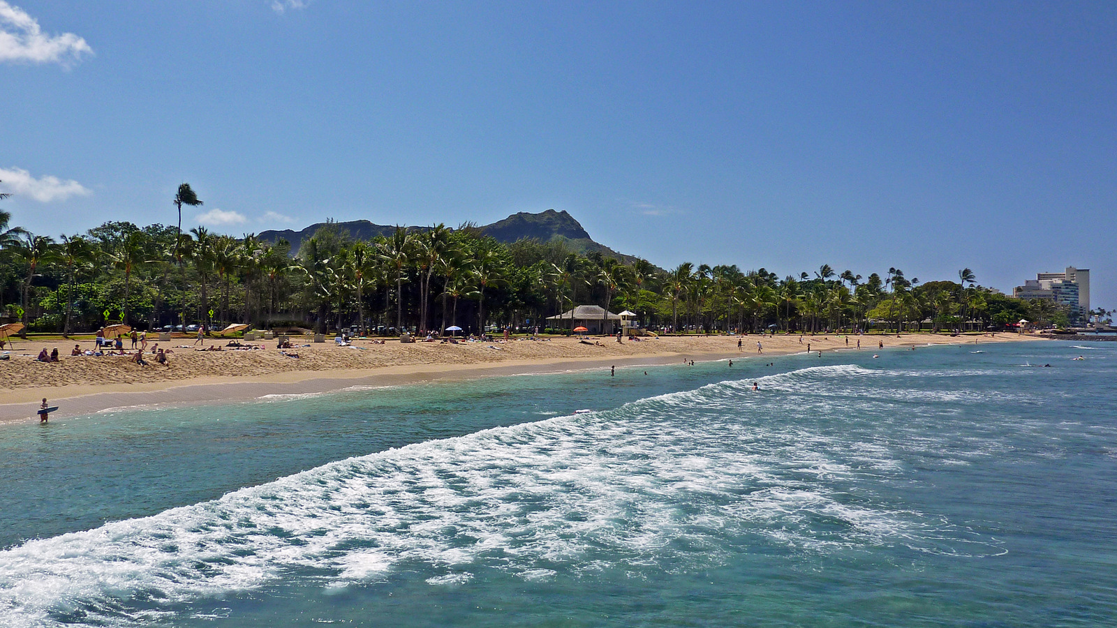 Waikiki, a perfect place for an all inclusive Hawaii vacations.