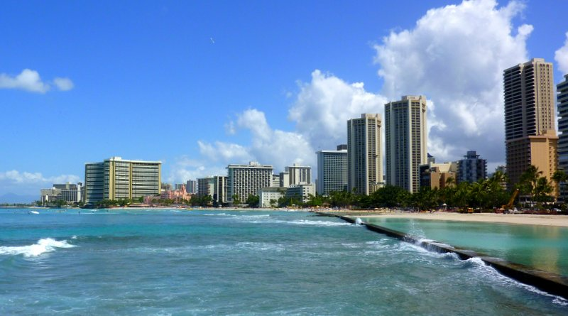 View of Waikiki Beach