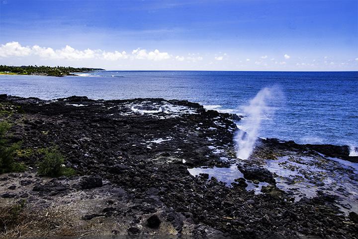 Spouting Horn Kauai, Hawaii