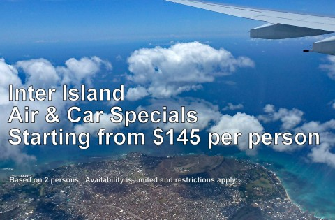 Hawaii Interisland Air Hotel Package